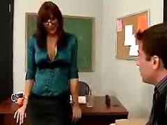 aged teacher desi foxx sm56