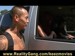 lewd cheating redhead wife whore drilled hard by
