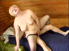 russian guy fucking a plumper aged