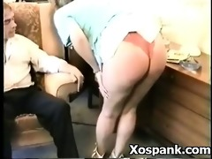 spanking aged in seductive fetish submission