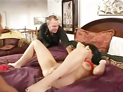 2 darksome boyz double penetration his wife