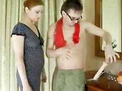 trajinando con la lenceria de mommy