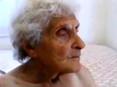 unattractive old granny receives screwed