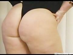 wicked bbw got a large butt