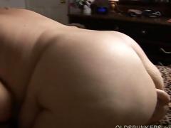 breasty older big beautiful woman redhead gives
