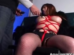 japanese momoko looking sexy in nylons part0