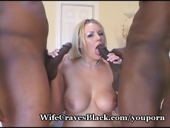 white wifey drilled by dark paramours