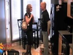 brandi love copulates the painter to get out of