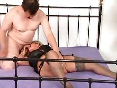 old and eager mother i bonks threesome lad during