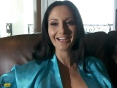 ava addams interviews while getting drilled on