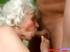 aged granny acquire drilled by youthful guy