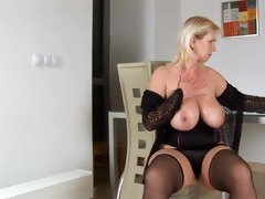 plastic fun with blonde breasty