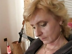 deliverymen group-sex lonely mature