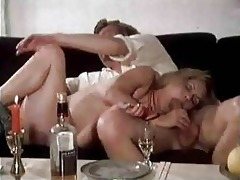 titty drunk milf acquires stretched creamed on a