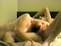 mature wife sucks the life outa him