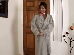 angela devi shows all in her lewd home vid