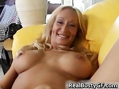 breasty lewd mama plays with her cum-hole part6