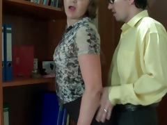 breasty older lewd slut receives bawdy cleft