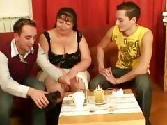 a matter of joke studs group-sex mature fatt...