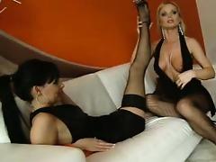 stacy dasilva and silvia - foot fetish