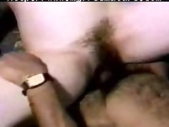 curly granny wife acquires screwed by dark man