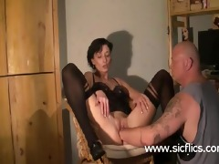 brutally fist screwed housewife has her muff