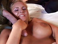 cute blonde d like to fuck does blowjob and is