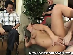 young wife enjoys pounder ramming