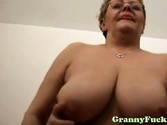 large tit granny hardcore rear