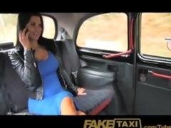 faketaxi exotic stunner in office break taxi joy