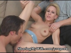 small wifes cookie stretched by thick cock