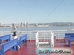 hawt french girlfriend cruise ship sex part6