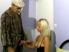 papy fucking a golden-haired with his neighbor