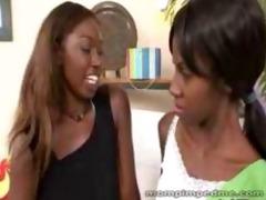 ebon mommy seduces youthful