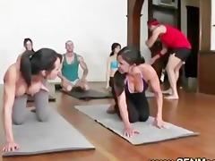 obscene yoga instructors nasty lesson