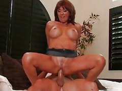 excited mother i stuffed and drilled