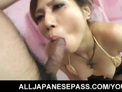 sexy japanese d like to fuck gets her throat