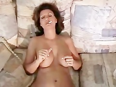 lascivious wife smokin around the abode
