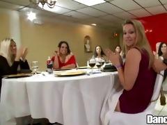 dancingcock large rod in restaurant