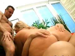 threesome old doxy feels to slutty for juvenile