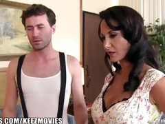 brazzers - ava addams - hungry face holes on his