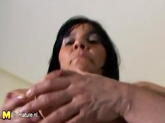 older mother roseline likes her large sex tool