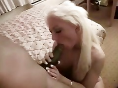 electric blond wife can large dark pecker