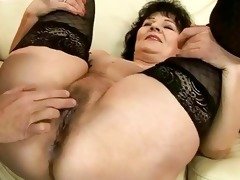 concupiscent granny getting screwed charming hard