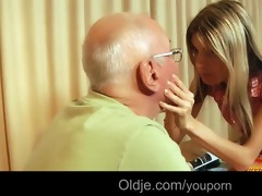 hot gina fucking rich old man boyfriend