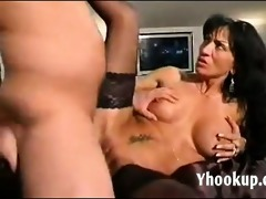 italian mommy and sons ally on web camera