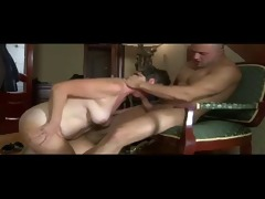 russian granny fucked by hard dick