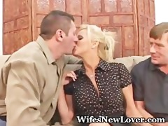fresh lover for wife with love tunnel hubby