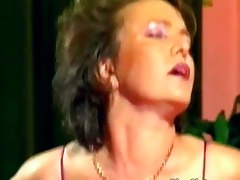 lascivious older doxy receives soaked love tunnel