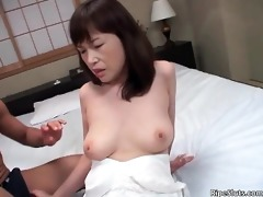 alluring oriental mother i with good pantoons